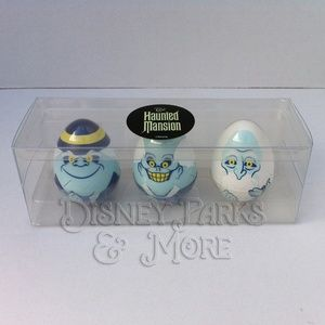 Disney Haunted Mansion Hitchhiking Ghost Egg Set